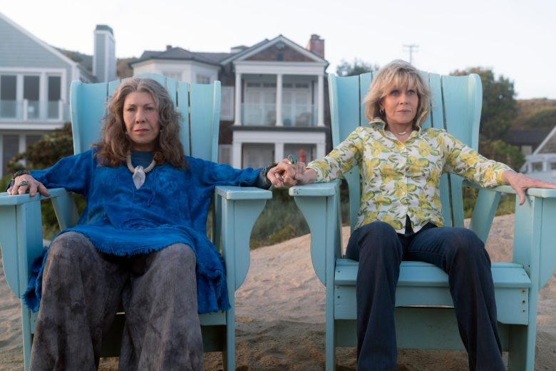 Grace and Frankie': RuPaul Interviews Jane Fonda and Lily Tomlin ...