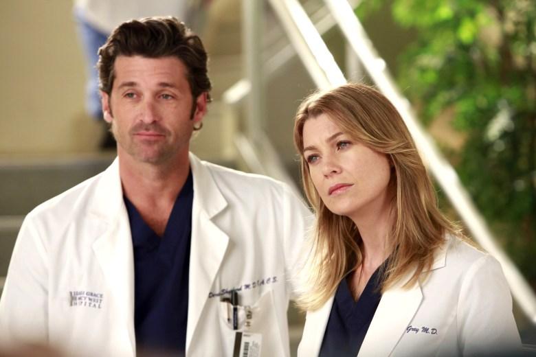 "Patrick Dempsey and Ellen Pompeo, ""Grey's Anatomy"""