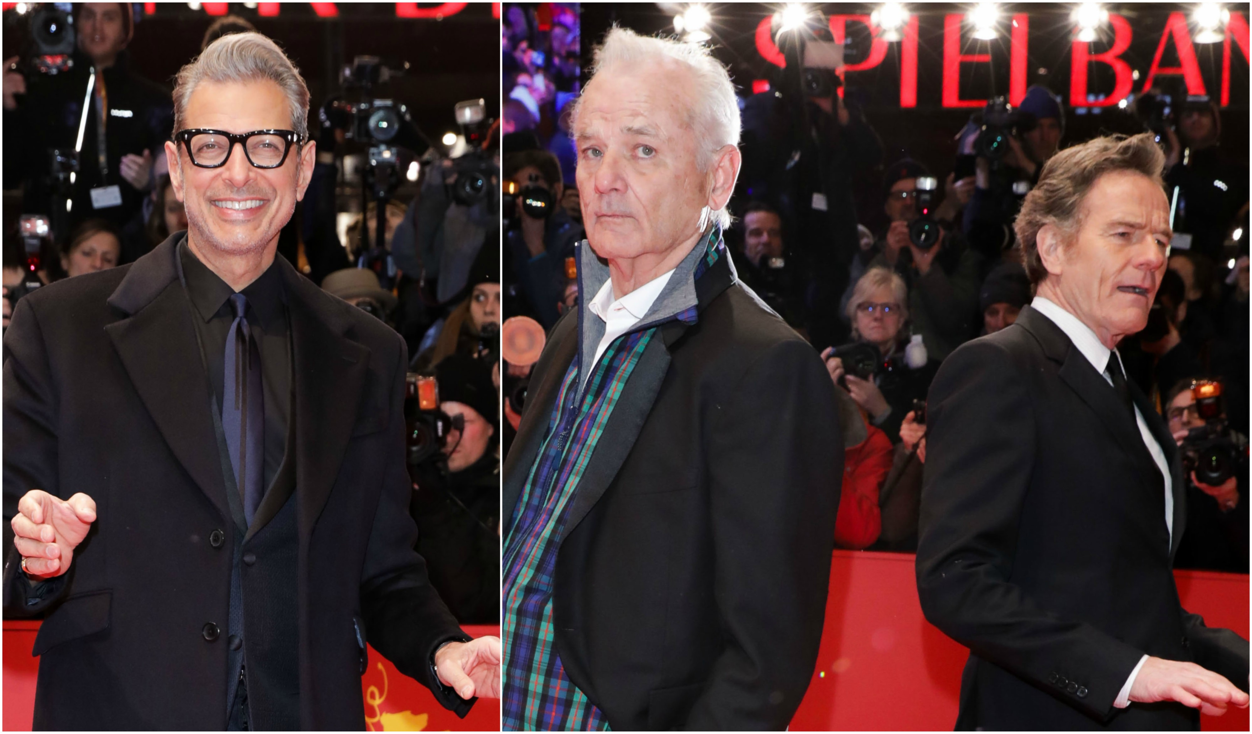 Jeff Goldblum Bill Murray Bryan Cryanston Berlin International Film Festival