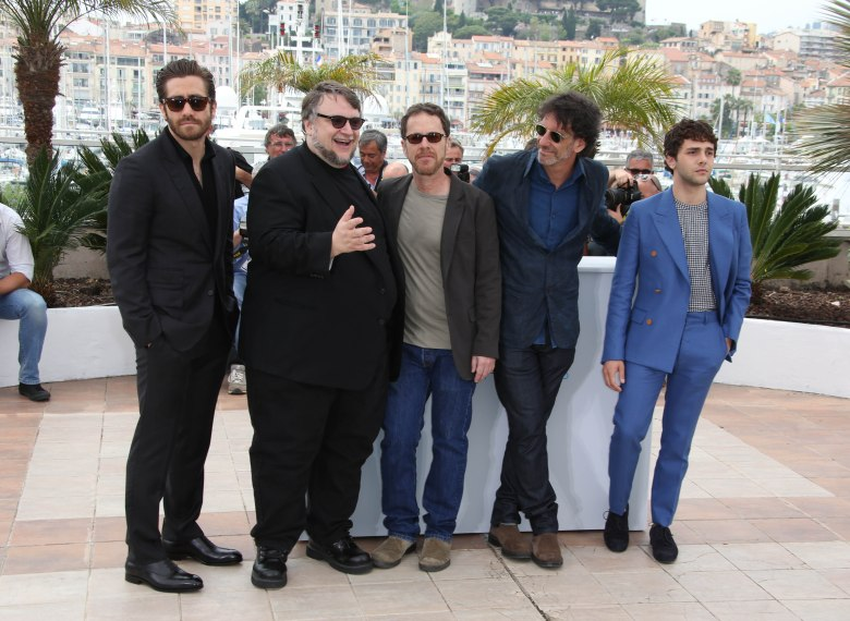 Jake Gyllenhaal, Guillermo Del Toro, Ethan Coen, Joel Coen and XJury photocall, 68th Cannes Film Festival, France - 13 May 2015