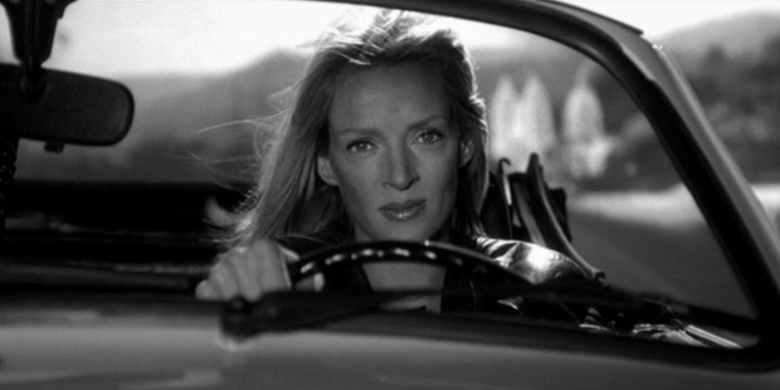 Kill Bill Uma Thurman car crash