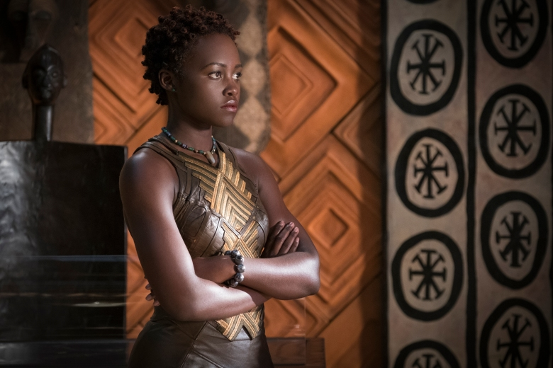 Marvel Studios & # 39; BLACK PANTHER .. Nakia (Lupita Nyong & # 39; o) .. Ph: Matt Kennedy. © Marvel Studios 2018