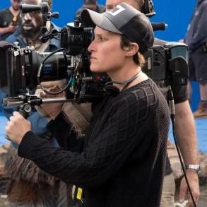 Marvel Studios' BLACK PANTHERCinematographer Rachel Morrison on set. Ph: Matt Kennedy©Marvel Studios 2018