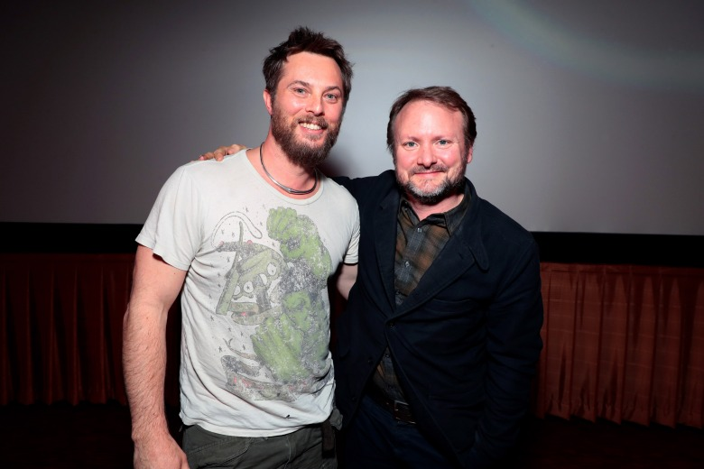 "Director Duncan Jones and Rain Johnson at Netflix Films ""MUTE"" Special Screening on February 22 at The Grove, Los Angeles, CA"