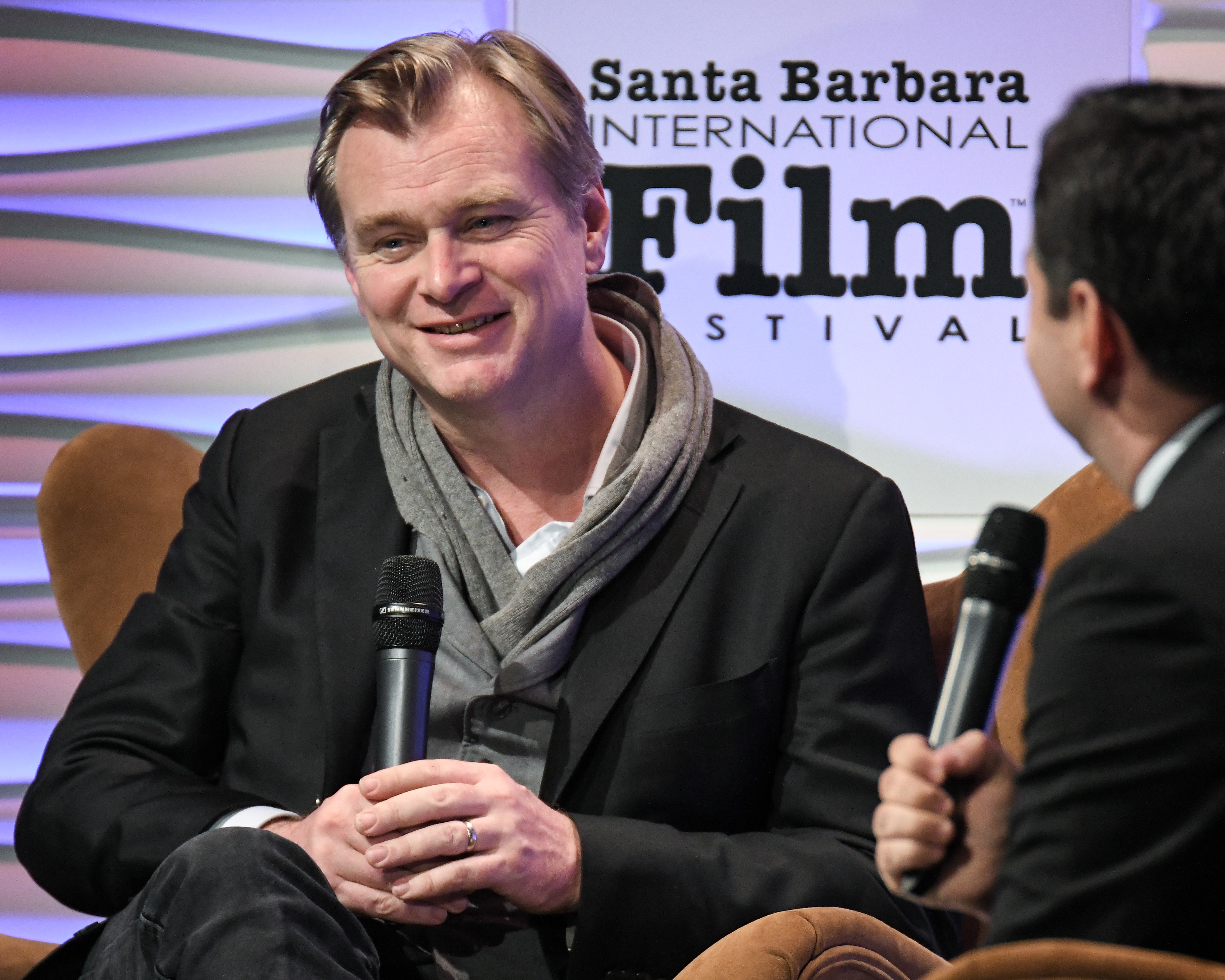 Christopher Nolan and Scott Feinberg Outstanding Directors of the Year Award, Show, 33rd Santa Barbara International Film Festival, USA - 06 Feb 2018