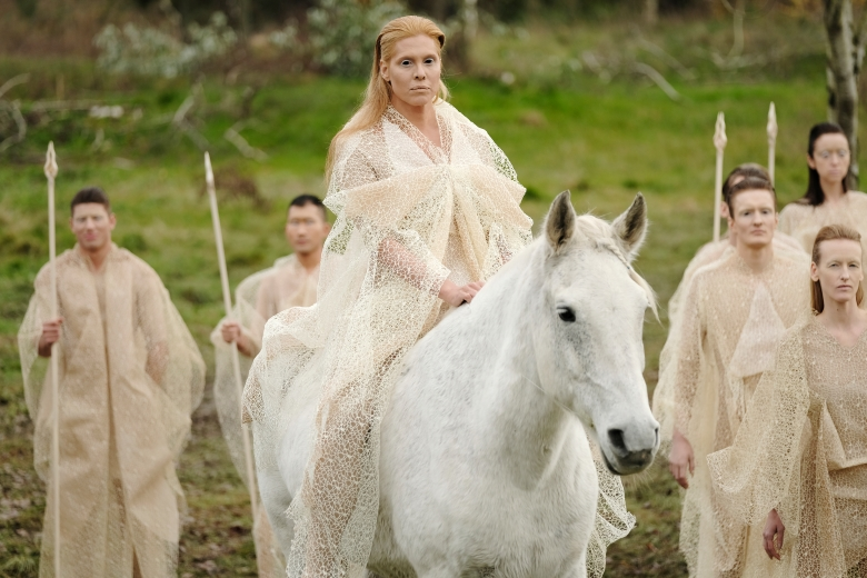 "Candis Cayne, ""The Magicians"""