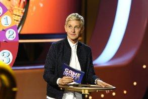 "ELLEN'S GAME OF GAMES -- ""Ellen's Game of Games"" Episode 107 -- Pictured: Ellen DeGeneres -- (Photo by: Mike Rozman/NBC)"