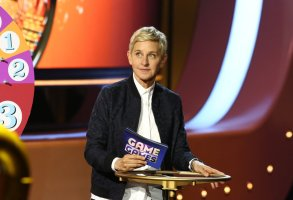 "ELLEN'S GAME OF GAMES -- ""Ellen's Game of Games"" Episode 107 -- Pictured: Ellen DeGeneres -- (Photo by: Mike Rozman/NBC)"