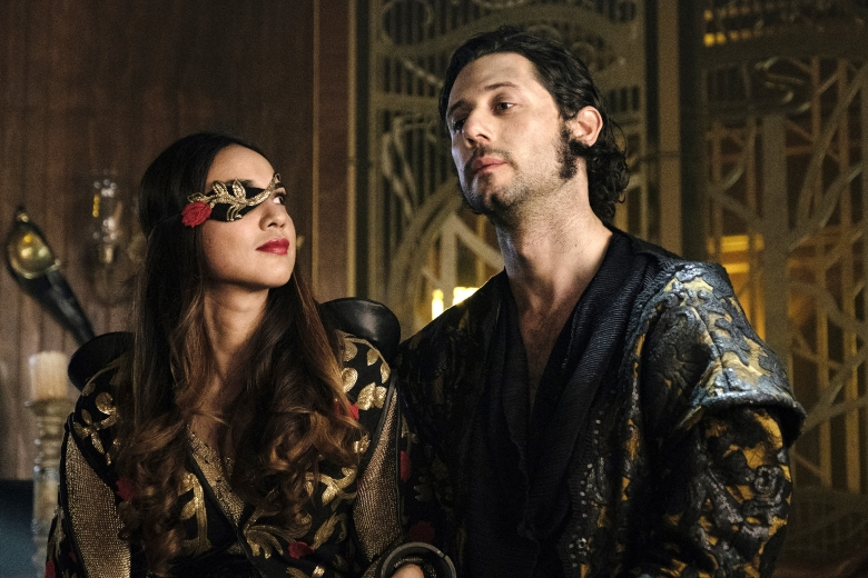 "Summer Bishil and Hale Appleman, ""The Magicians"""