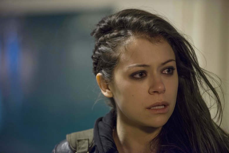 No Merchandising. Editorial Use Only. No Book Cover Usage.Mandatory Credit: Photo by BBC America/Kobal/REX/Shutterstock (5883540d)Tatiana MaslanyOrphan Black - 2013BBC AmericaCANADA/USATelevisionTv Classics