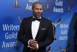 "Jordan Peele, writer/director of the film ""Get Out,"" poses at the 2018 Writers Guild Awards at the Beverly Hilton, in Beverly Hills, Calif2018 Writers Guild Awards, Beverly Hills, USA - 11 Feb 2018"