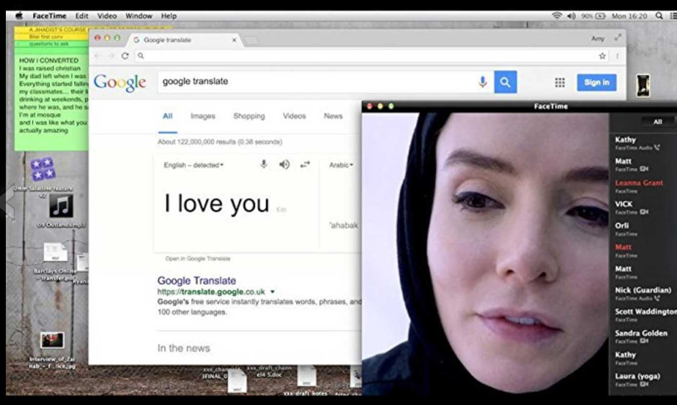 Profile Review: An Engaging Thriller About a Woman Catfishing ISIS | IndieWire