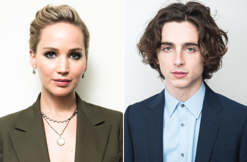 Jennifer Lawrence Is Also Obsessed With Timothée Chalamet: 'I'm Buttering Him Up Like a Pig for Slaughter'