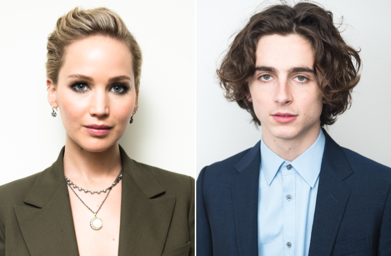 Jennifer Lawrence is Just as Obsessed With Timothée Chalamet As You
