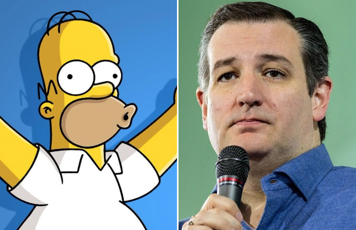 Ted Cruz: One 'Simpsons' character is a Democrat, the rest are GOP