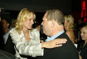 Uma Thurman Harvey Weinstein Kill Bill 2 premiere