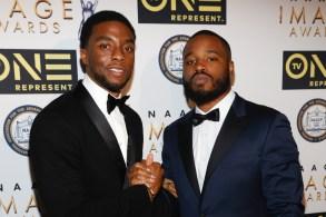 Chadwick Boseman and Ryan Coogler47th Annual NAACP Image Awards, Hyundai Post-show Gala Celebration, Los Angeles, America - 05 Feb 2016