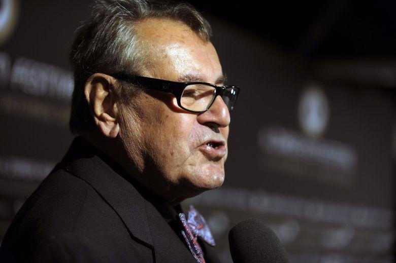 Czech Film Director Milos Forman Talks