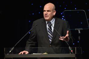 David Simon, PresenterWriters Guild Awards, Show, The Edison Ballroom, New York, USA - 19 Feb 2017