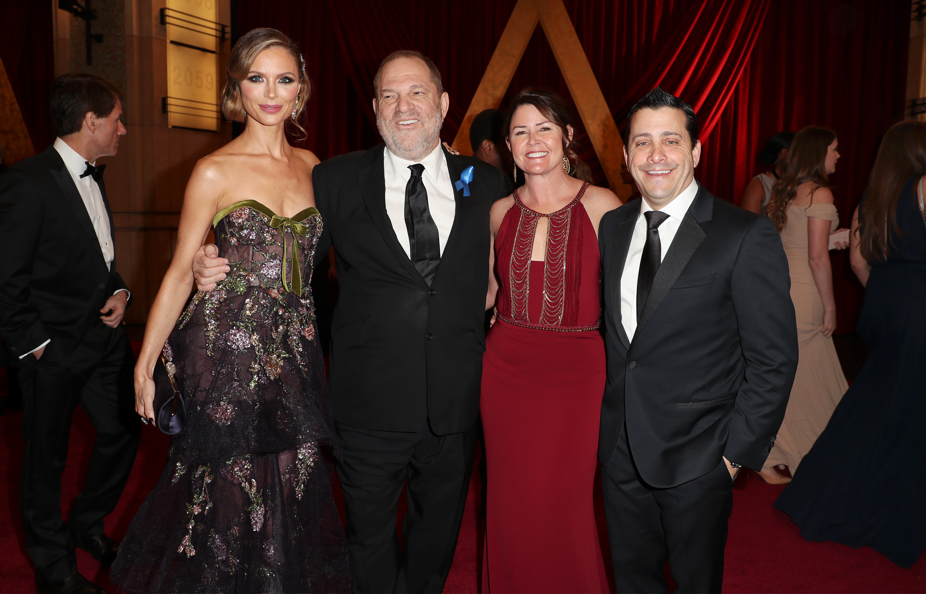 Georgina Chapman, Harvey Weinstein, Michele Glasser and David Glasser89th Annual Academy Awards, Executive Arrivals, Los Angeles, USA - 26 Feb 2017