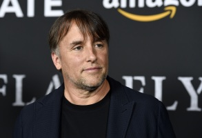 "Richard Linklater, director/co-writer of ""Last Flag Flying,"" poses at the premiere of the film at the Directors Guild of America, in Los AngelesLA Premiere of ""Last Flag Flying"", Los Angeles, USA - 01 Nov 2017"