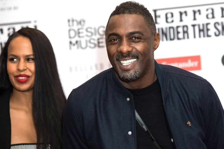 Idris Elba fiancee wife Sabrina Dhowre