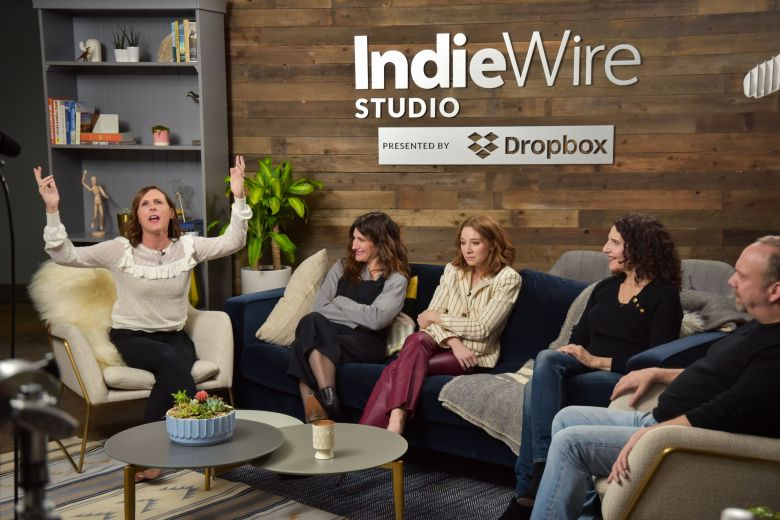Molly Shannon, Kathryn Hahn, Paul GiamattiIndieWire Studio presented by Dropbox, Day 1, Sundance Film Festival, Park City, USA - 19 Jan 2018