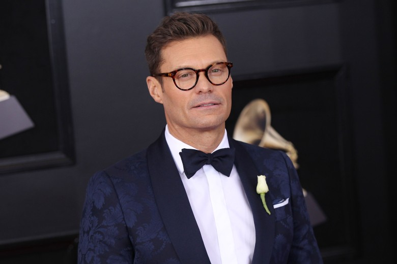 Ryan Seacrest60th Annual Grammy Awards - Red Carpet Arrivals, New York, USA - 28 Jan 2018