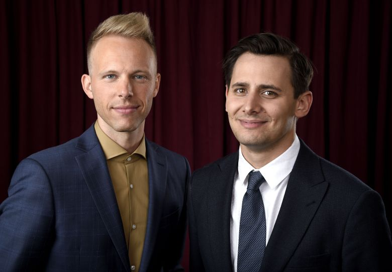 Justin Paul, Benj Pasek90th Academy Awards Nominees Luncheon - Portraits, Beverly Hills, USA - 05 Feb 2018