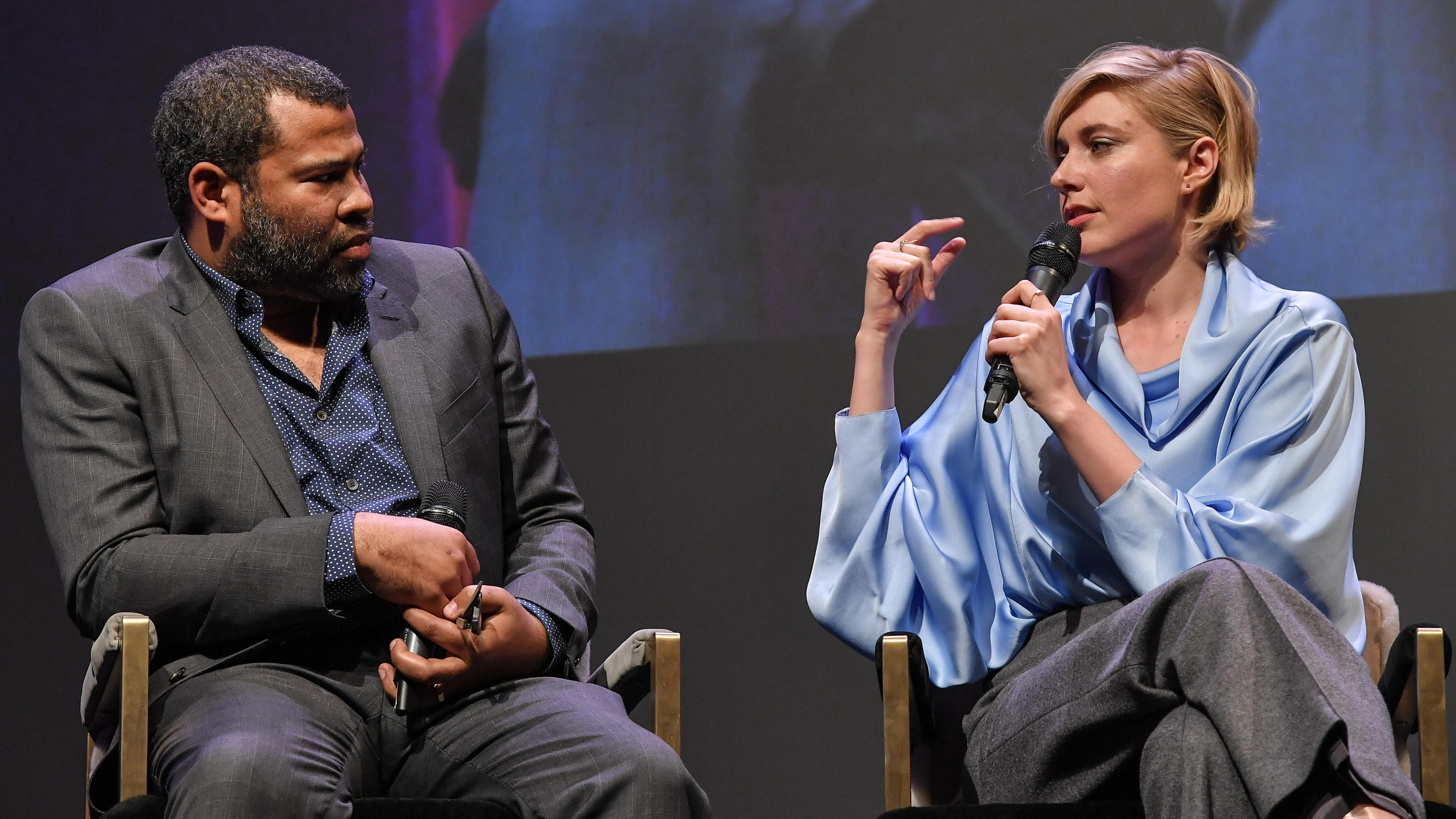 Jordan Peele and Greta GerwigOutstanding Directors of the Year Award, Show, 33rd Santa Barbara International Film Festival, USA - 06 Feb 2018