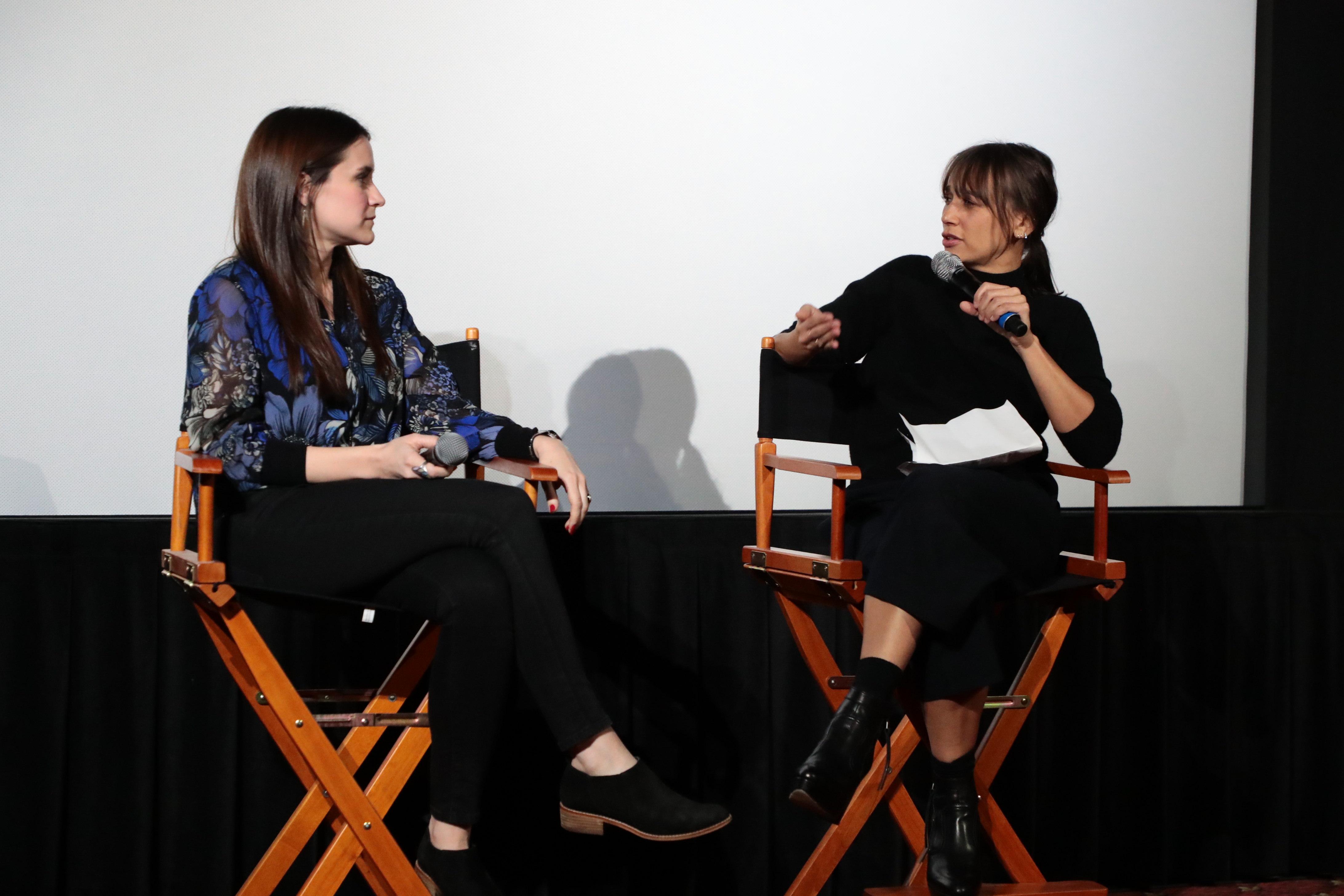 Director/Producer Elaine McMillion Sheldon and Rashida JonesNetflix Original Documentary short 'Heroin(e)' moderated by Rashida Jones, Beverly Hils, USA - 20 February 2018