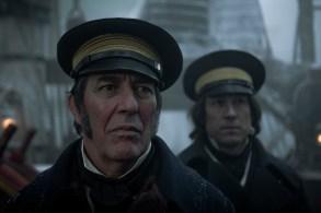 Ciarán Hinds as John Franklin, Tobias Menzies as James Fitzjames- The Terror _ Season 1, Episode 1 - Photo Credit: Aidan Monaghan/AMC