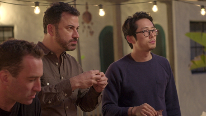 "Jimmy Kimmel and Steven Yeun, ""Ugly Delicious"""