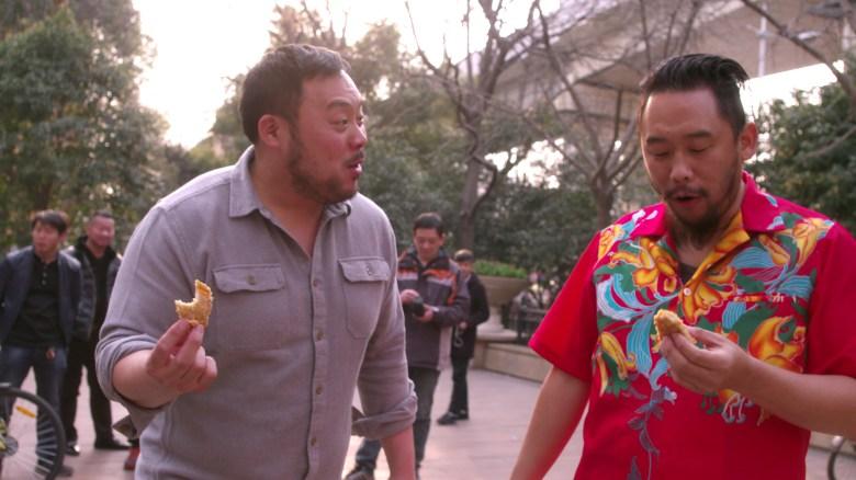 """David Chang and David Choe, """"Ugly Delicious"""""""