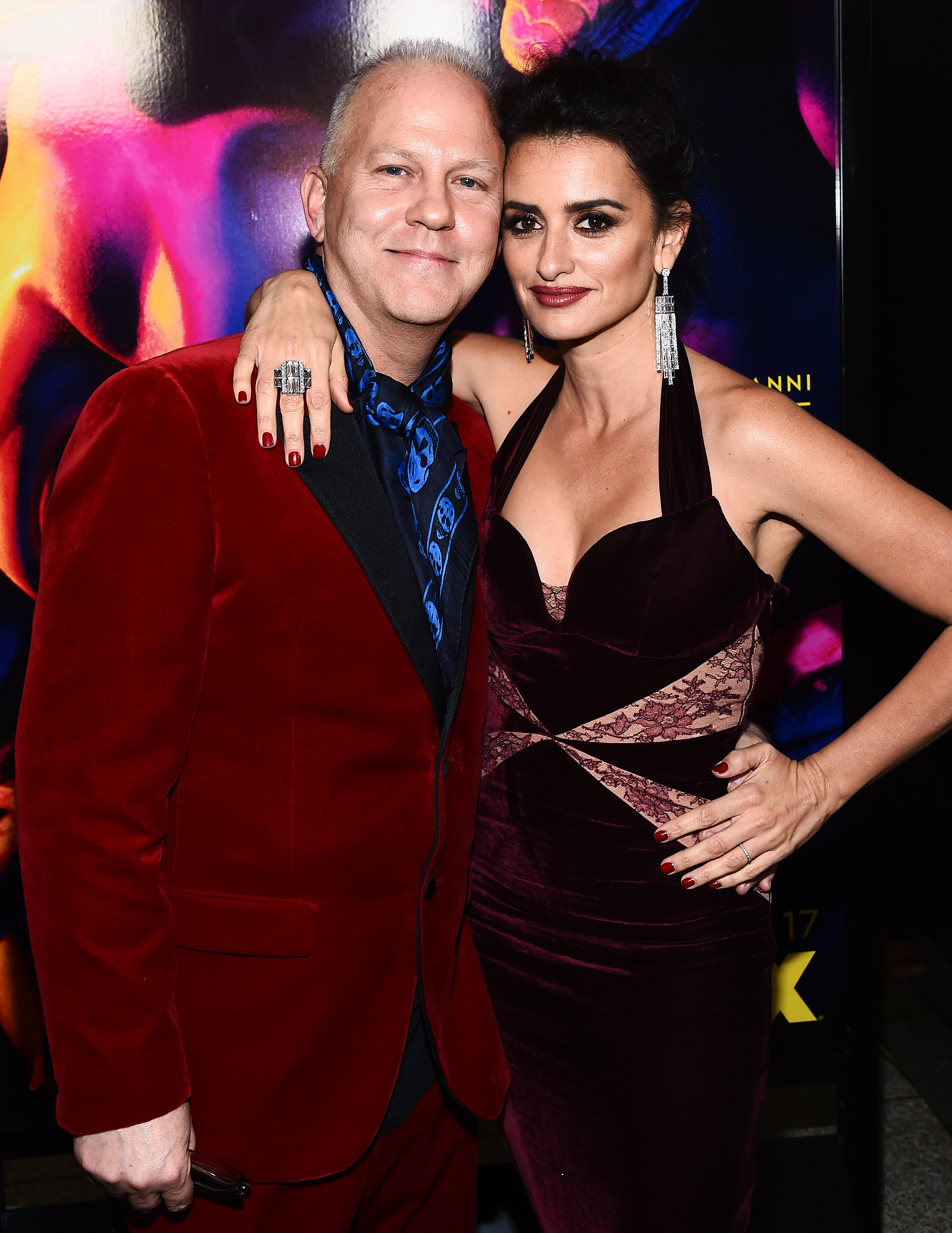 Ryan Murphy and Penelope Cruz'The Assassination of Gianni Versace: American Crime Story' TV show premiere, Arrivals, Los Angeles, USA - 08 Jan 2018