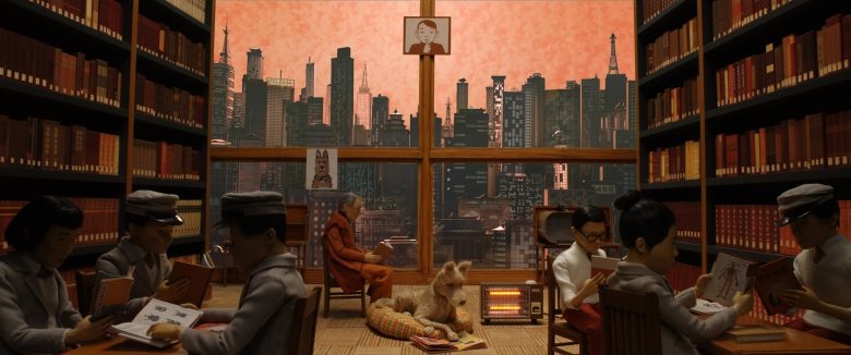 "Edward Norton as ""Rex"" in the film ISLE OF DOGS. Photo Courtesy of Fox Searchlight Pictures. © 2018 Twentieth Century Fox Film Corporation All Rights Reserved"