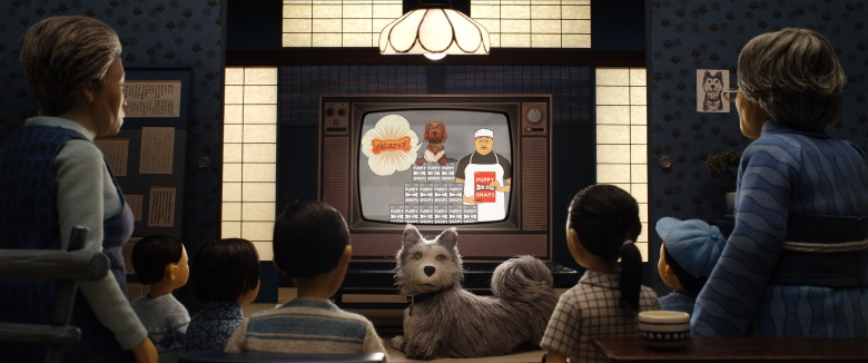 "Jeff Goldblum as ""Duke"" in the film ISLE OF DOGS. Photo Courtesy of Fox Searchlight Pictures. © 2018 Twentieth Century Fox Film Corporation All Rights Reserved"