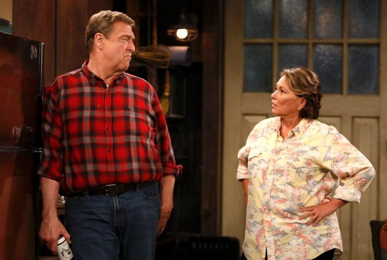 "John Goodman and Roseanne Barr, ""Roseanne"""
