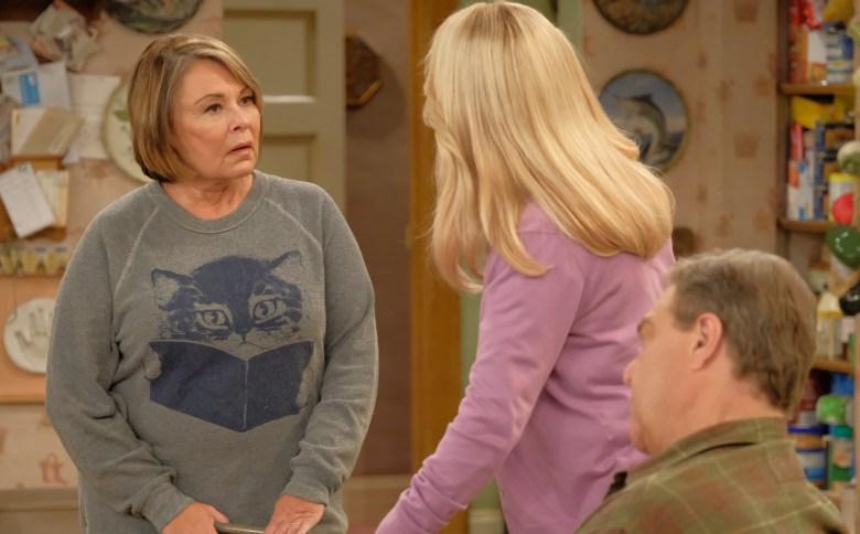 """ROSEANNE BARR, LECY GORANSON, JOHN GOODMAN, """"Roseanne"""""""