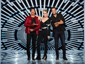 "AMERICAN IDOL - ABC's ""American Idol"" judges Lionel Richie, Katy Perry and Luke Bryan. (ABC/Craig Sjodin)"
