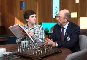 "Freddie Highmore and Richard Schiff, ""The Good Doctor"""