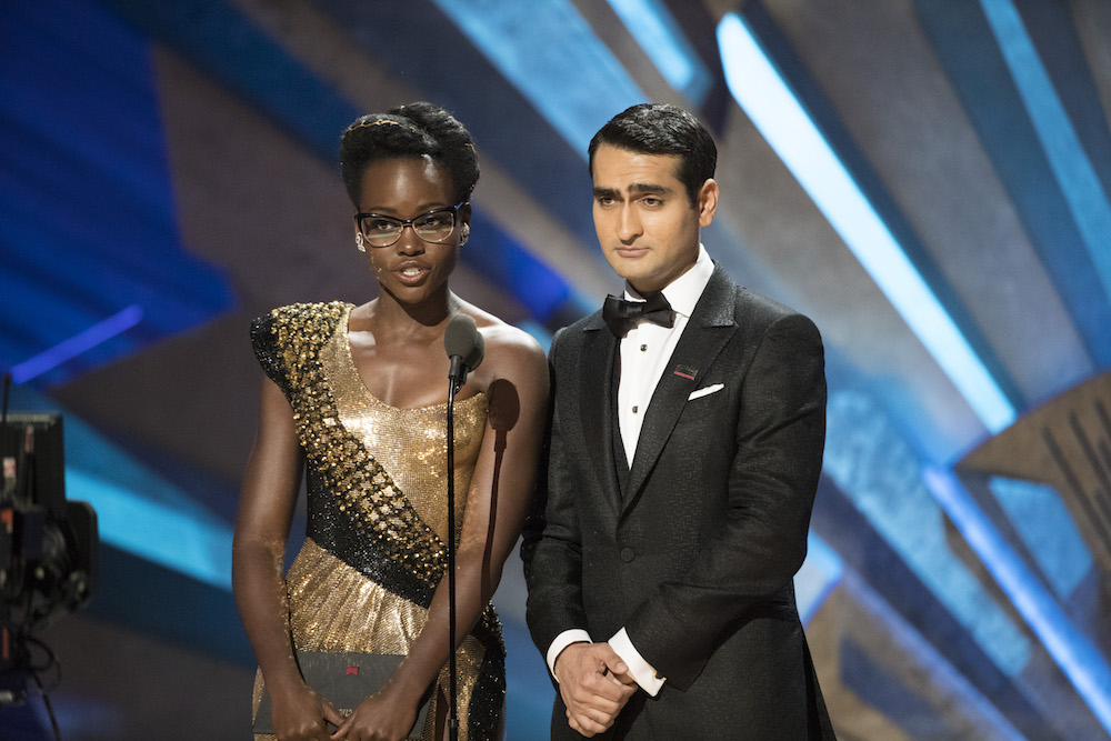 THE OSCARS(r) - The 90th Oscars(r) broadcasts live on Oscar(r) SUNDAY, MARCH 4, 2018, at the Dolby Theatre® at Hollywood & Highland Center® in Hollywood, on the ABC Television Network. (ABC/Craig Sjodin)LUPITA NYONG'O, KUMAIL NANJIANI
