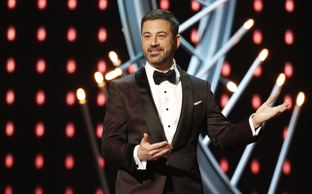THE OSCARS(r) - The 90th Oscars(r) broadcasts live on Oscar(r) SUNDAY, MARCH 4, 2018, at the Dolby Theatre® at Hollywood & Highland Center® in Hollywood, on the ABC Television Network. (ABC/Craig Sjodin)JIMMY KIMMEL