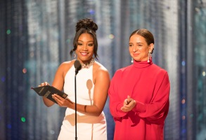 THE OSCARS(r) - The 90th Oscars(r) broadcasts live on Oscar(r) SUNDAY, MARCH 4, 2018, at the Dolby Theatre® at Hollywood & Highland Center® in Hollywood, on the ABC Television Network. (ABC/Craig Sjodin)TIFFANY HADDISH, MAYA RUDOLPH