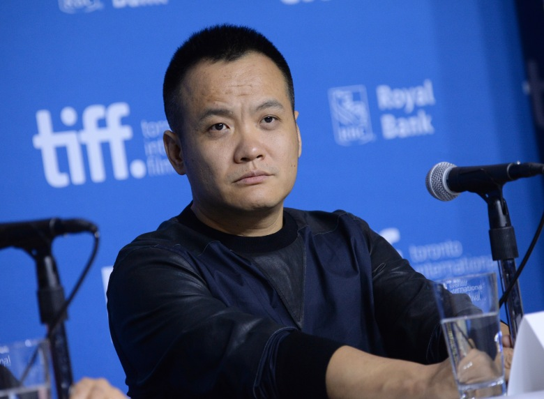 "Director Ning Hao attends the press conference for ""Breakup Buddies"" on day 4 of the Toronto International Film Festival at the TIFF Bell Lightbox, in Toronto2014 TIFF - ""Breakup Buddies"" Press Conference, Toronto, Canada"