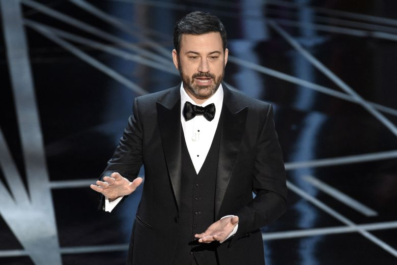 Host Jimmy Kimmel appears at the Oscars in Los Angeles. The Academy of Motion Picture Arts and Sciences, said Kimmel will return for the 90th Oscars on March 4, 2018Oscars-Host, Los Angeles, USA - 27 Feb 2017