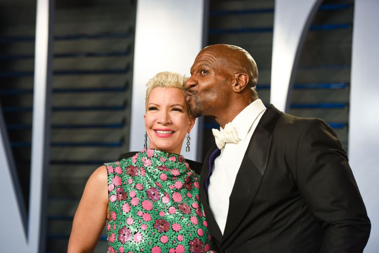 Terry Crews, Rebecca-King CrewsVanity Fair Oscar Party, Arrivals, Los Angeles, USA - 04 Mar 2018