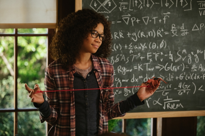 Storm Reid is Meg Murry in Disney's A WRINKLE IN TIME, an epic adventure based on Madeleine L'Engle's timeless classis.