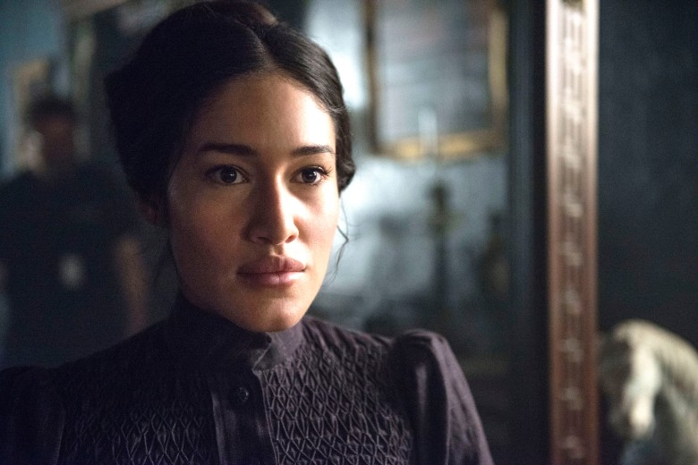 "Q'orianka Kilcher, ""The Alienist"""