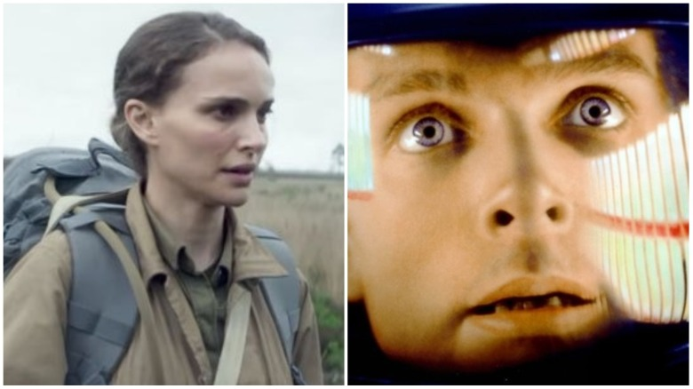 """Annihilation"" and ""2001: A Space Odyssey"""